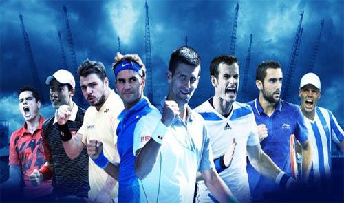 Quần vợt nam thế giới 2014 qua những con số