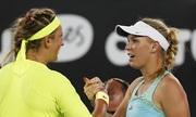 Wozniacki gác vợt trước Azarenka ngay vòng hai