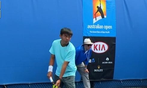 Lý Hoàng Nam giành chiến thắng lịch sử ở giải trẻ Australia Mở rộng