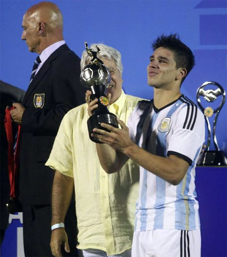 Con trai Diego Simeone lập đại công, Argentina vô địch U20 Nam Mỹ