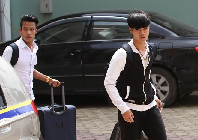 Dàn cầu thủ Hoàng Anh Gia Lai đổ bộ xuống Hà Nội