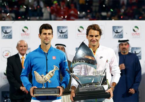Đánh bại Djokovic, Roger Federer lần thứ bảy vô địch tại Dubai