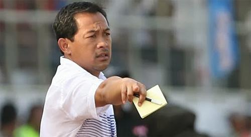 Santoso dẫn dắt đội U23 Indonesia từ năm 2013, sau nhiều năm làm trợ lý.