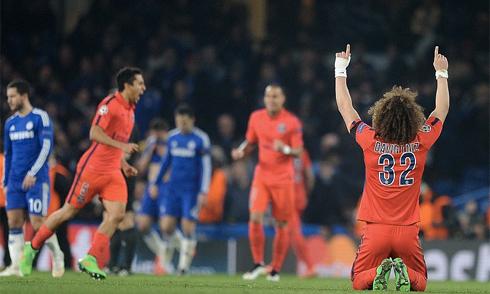 PSG ngoan cường hất cẳng Chelsea khỏi Champions League
