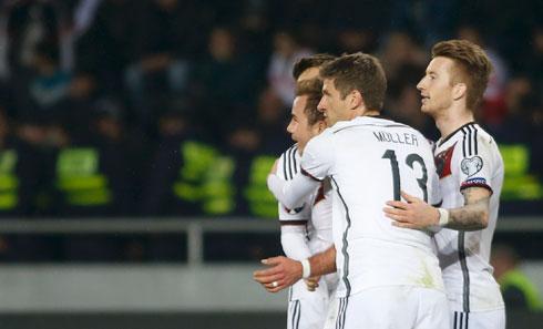Georgia 0-2 Đức: Chiến thắng vất vả