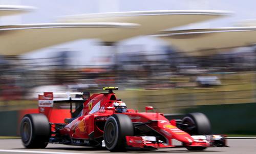 Raikkonen vừa về nhì tại GP Bahrain. Ảnh: Reuters.