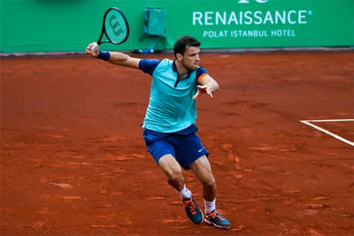 Dimitrov đang cố gắng lấy lại phong độ sau ít tháng đầu năm sa sút. Ảnh: ATP World Tour.