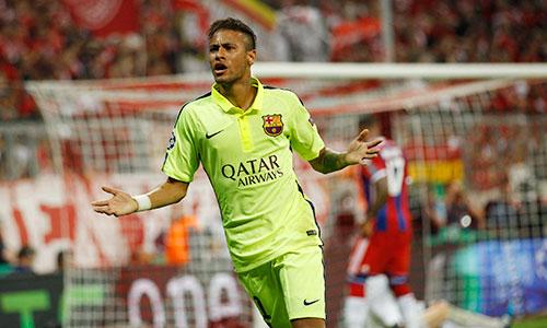 Neymar đua tranh ngôi Vua phá lưới với Messi và Ronaldo