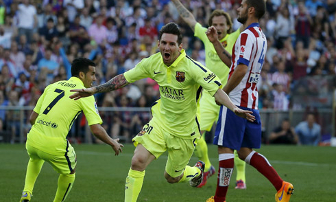 Simeone: 'Atletico chỉ thua vì khoảnh khắc thiên tài Messi'