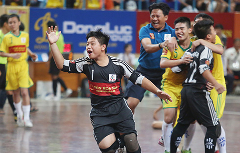Giải bóng đá trẻ em đặc biệt: Sân chơi nhân ái