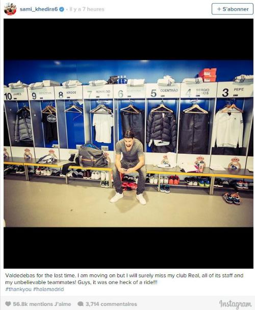 Khedira tổn thương khi bị buộc rời khỏi Real Madrid