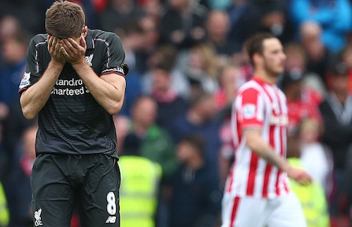 Liverpool chia tay Gerrard bằng thất bại 1-6