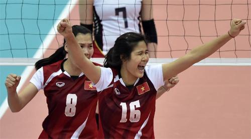 Tuyển bóng chuyền nữ Việt Nam lần thứ hai liên tiếp đánh bại Iran