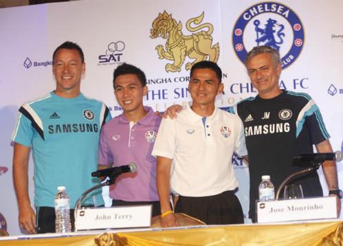 Kiatisuk: 'Thái Lan không e ngại Chelsea'