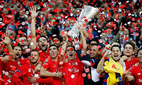 Sevilla vô địch Europa League sau màn rượt đuổi ngoạn mục