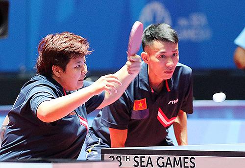 Hạ kình địch Thái Lan, bóng bàn Việt Nam rộng cửa đoạt huy chương