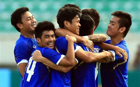 U23 Thái Lan độc chiếm ngôi đầu bảng B