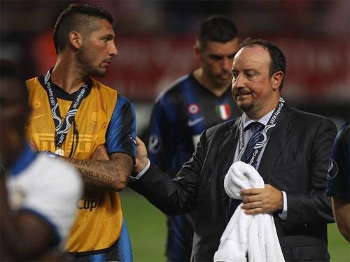 Materazzi lo cho số phận Real trong tay Benitez