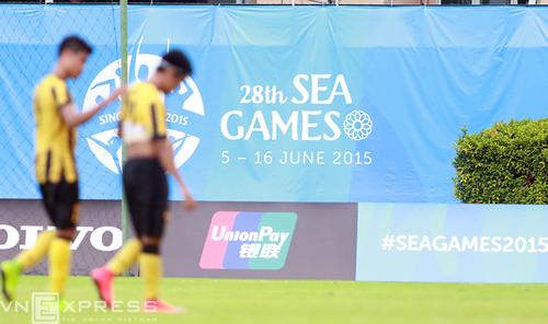Thất trận, cả đội U23 Malaysia đứng nghe hát Quốc ca