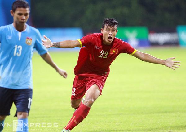 U23 Việt Nam nhọc nhằn vượt ải U23 Lào
