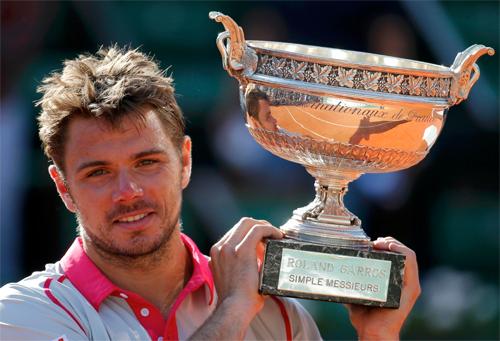 Wawrinka lên ngôi, Djokovic tiếp tục lỡ hẹn Roland Garros