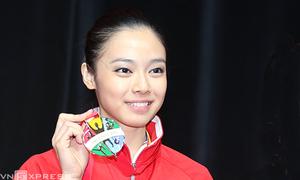 Hoa khôi wushu Indonesia thống trị SEA Games 28