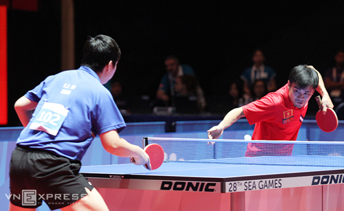 Tuấn Quỳnh thừa nhận dùng chiêu trò trong trận chung kết bóng bàn