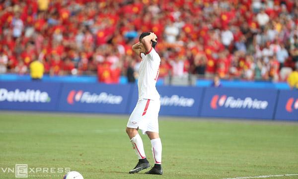 U23 Việt Nam 1-2 U23 Myanmar: Vỡ mộng vàng SEA Games