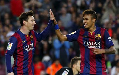 Neymar: 'Messi xứng đáng đoạt Quả bóng Vàng'