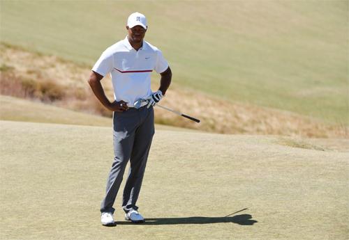 Tiger Woods bị loại sau hai vòng đầu giải US Open