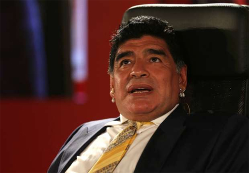 Maradona có thể tranh cử chức Chủ tịch FIFA