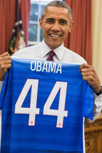 Tổng thống Mỹ cổ vũ đội tuyển dự World Cup bóng đá nữ