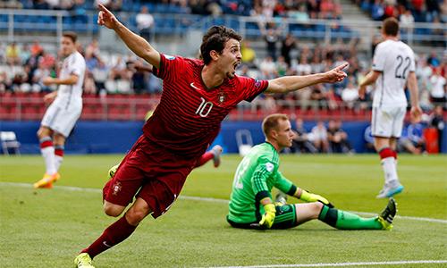 Bồ Đào Nha thắng huỷ diệt Đức ở bán kết giải U21 châu Âu