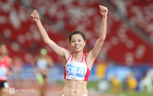 Nguyễn Thị Huyền lại 'gặt vàng' tại giải điền kinh châu Á