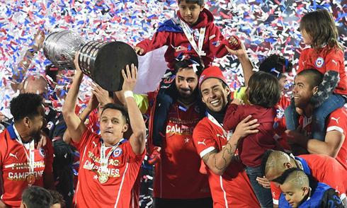 Chile đăng quang Copa America sau loạt sút luân lưu