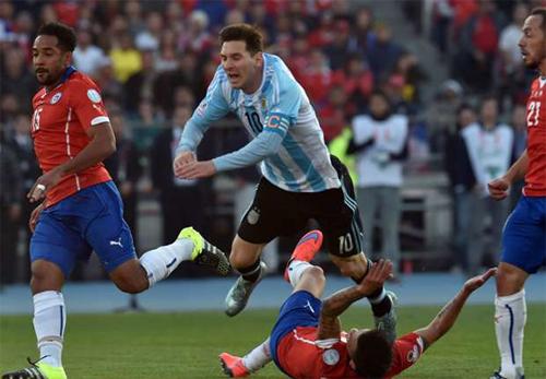 Người nhà của Messi bị đánh trong trận chung kết Copa America