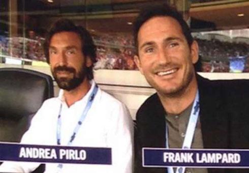 Lampard không dám tranh đá phạt với Pirlo