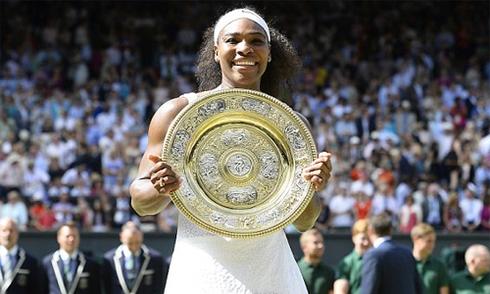 Serena Williams ngỡ ngàng khi lần thứ hai giành 'Serena Slam'