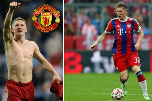 Tờ Bild: 'Schweinsteiger đồng ý đến Man Utd'