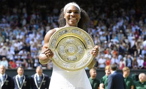 Serena Williams lần thứ sáu vô địch Wimbledon