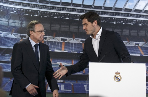 Perez: 'Casillas tự rời Real, De Gea thuộc về Man Utd'