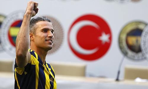 Van Persie trở thành ông hoàng lương bổng ở Thổ Nhĩ Kỳ
