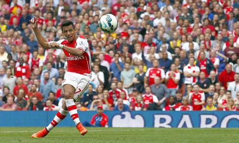 Arsenal mất Alexis Sanchez đầu mùa Ngoại hạng Anh