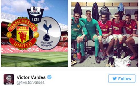 Valdes tung ảnh, đáp trả Van Gaal