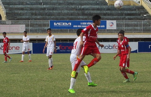 Bình Dương đại thắng, Huế vững ngôi đầu bảng giải U13 quốc gia