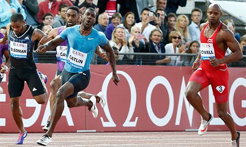 Gatlin tiếp tục gửi 'chiến thư' đến Usain Bolt trước giải VĐTG