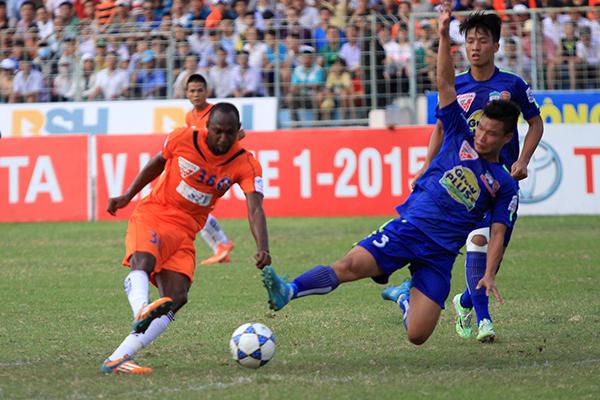HAGL thua Đà Nẵng, xuống vị trí áp chót V-League