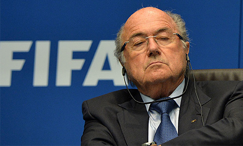 Nhà tài trợ hối Blatter sớm rời ghế chủ tịch FIFA