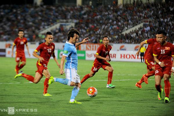 Việt Nam 1-8 Man City: Phá lưới Á quân Ngoại hạng Anh