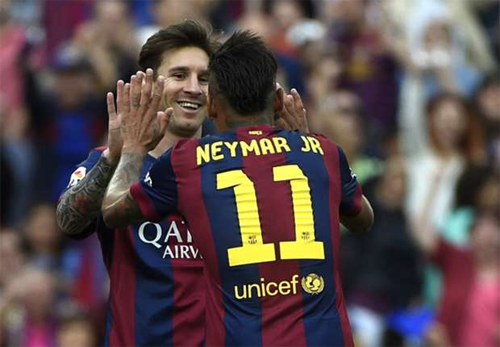 Neymar không mơ vượt qua Messi